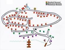 Ratter Lake Campground Park Map